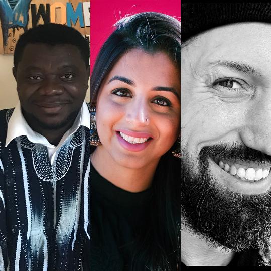 Conversations |Musah Swallah, Rupy C. Tut, and Jason Wyman