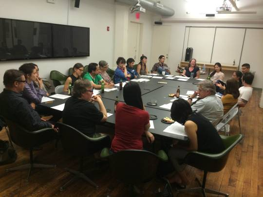 ANNOUNCING: PARTICIPANTS IN THE 2015 IMMIGRANT ARTIST MENTORING PROGRAM