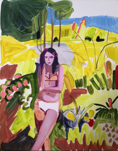 Painter Kimia Ferdowsi Kline chosen as Basil Alkazzi Artist in Residence at Wayne State University in Detroit