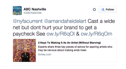 """Ask #ArtistHotline: Debunking the notion of """"Selling-Out"""""""