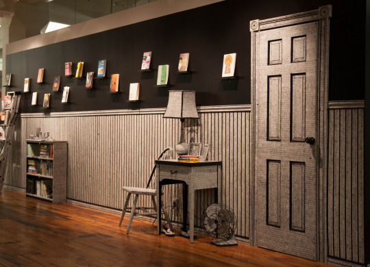 Last Weeks to See Stacks:Three Decades of Writing Fellows with an Installation by Anne Muntges