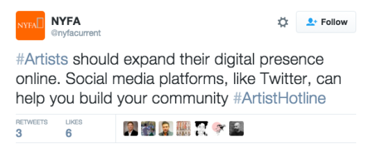 Ask #ArtistHotline: How to Drive Traffic to Your Artist Website