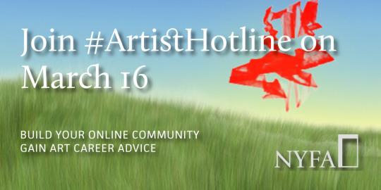 Reminder: #ArtistHotline ReturnsMarch 16