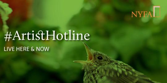 Live Now: #ArtistHotline