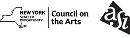 Logos of NYSCA and ASI