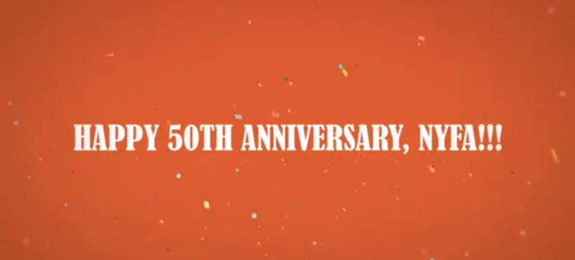 Celebrating | NYFA's 50th Milestone Anniversary
