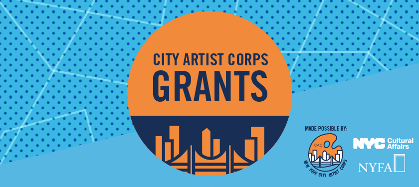 Announcing | NYFA and the New York City Department of Cultural Affairs (DCLA), with Support from the Mayor's Office of Media and Entertainment (MOME) as well as Queens Theatre, Launch Grant Program for Artists of All Disciplines
