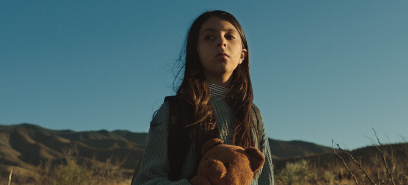 Image: Ayah, a 10-year old young woman, finds herself lost in the New Mexico landscape.