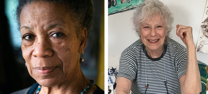 Announcing   Suzanne Jackson and Jenny Snider Receive 2021 Murray Reich Distinguished Artist Awards